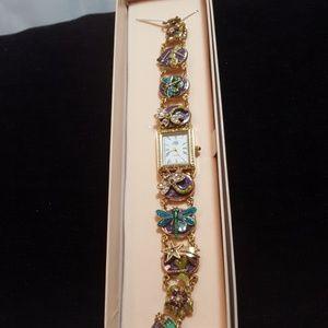 Kirks Folly Jewelry - Kirks Folly  Dragonfly watch